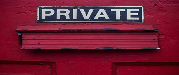 לשמור על פרטיות לכבד את גבול שלי
