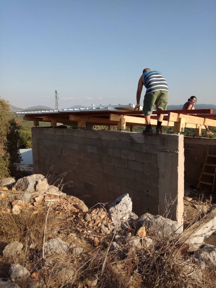 בית יונה עקרון העשייה ועקרון האיטיות בונים גג
